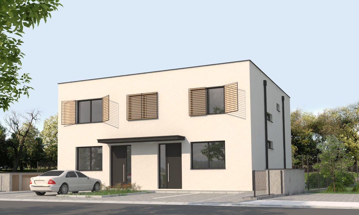 Novostavba 5 - izbového bytu 134,85 m2, pozemok 310 m2, parkovacie státie 2x